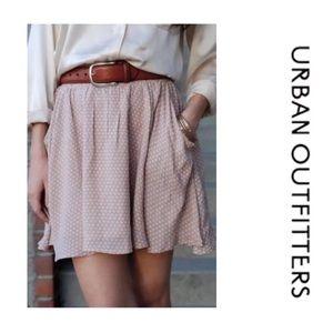 Cooperative Blush Polka Dot Circle Skirt